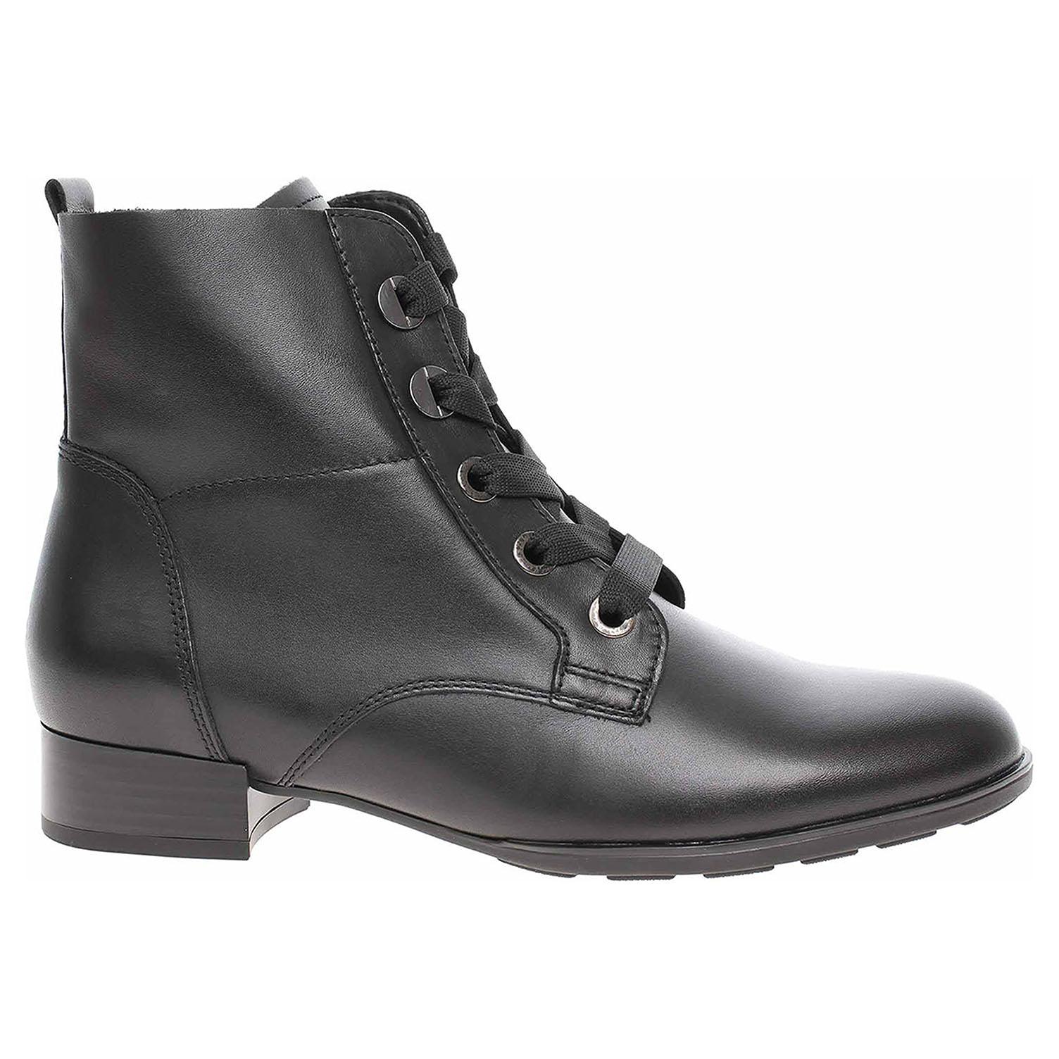 Dámská kotníková obuv Gabor 55.502.27 schwarz 55.502.27 37