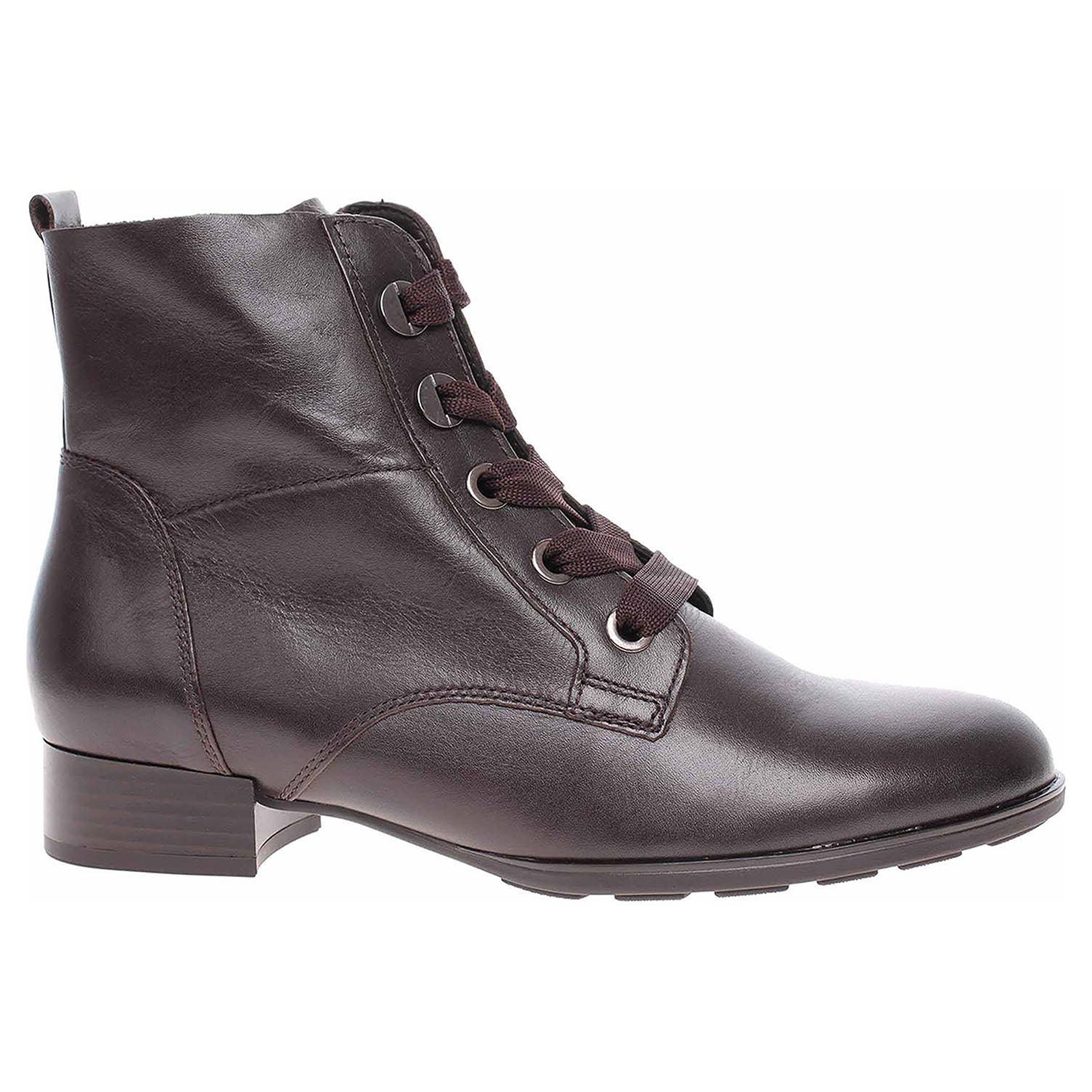 Dámská kotníková obuv Gabor 55.502.28 espresso 55.502.28 38
