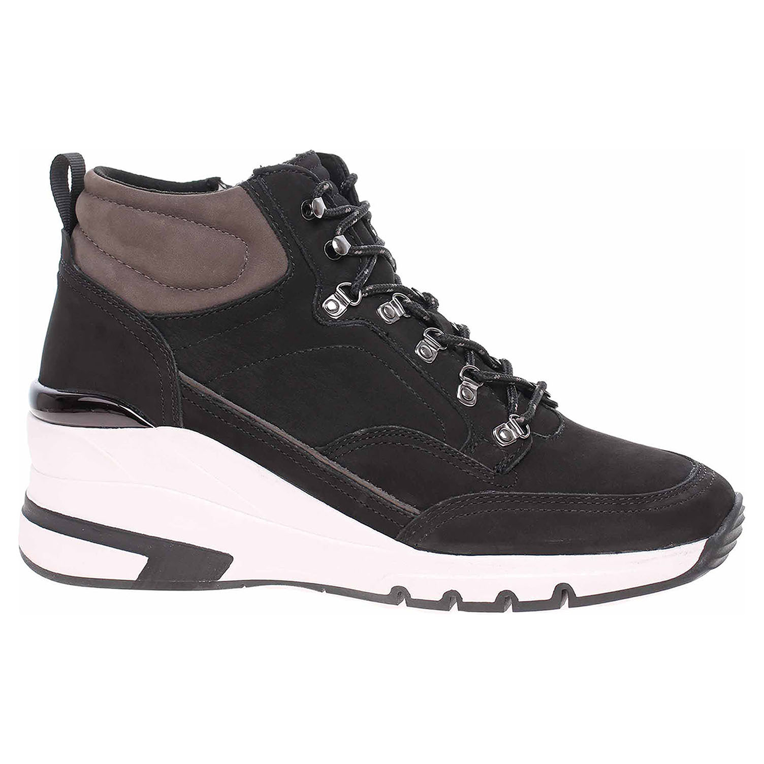 Dámská kotníková obuv Caprice 9-25222-25 black-grey 9-9-25222-25 027 39