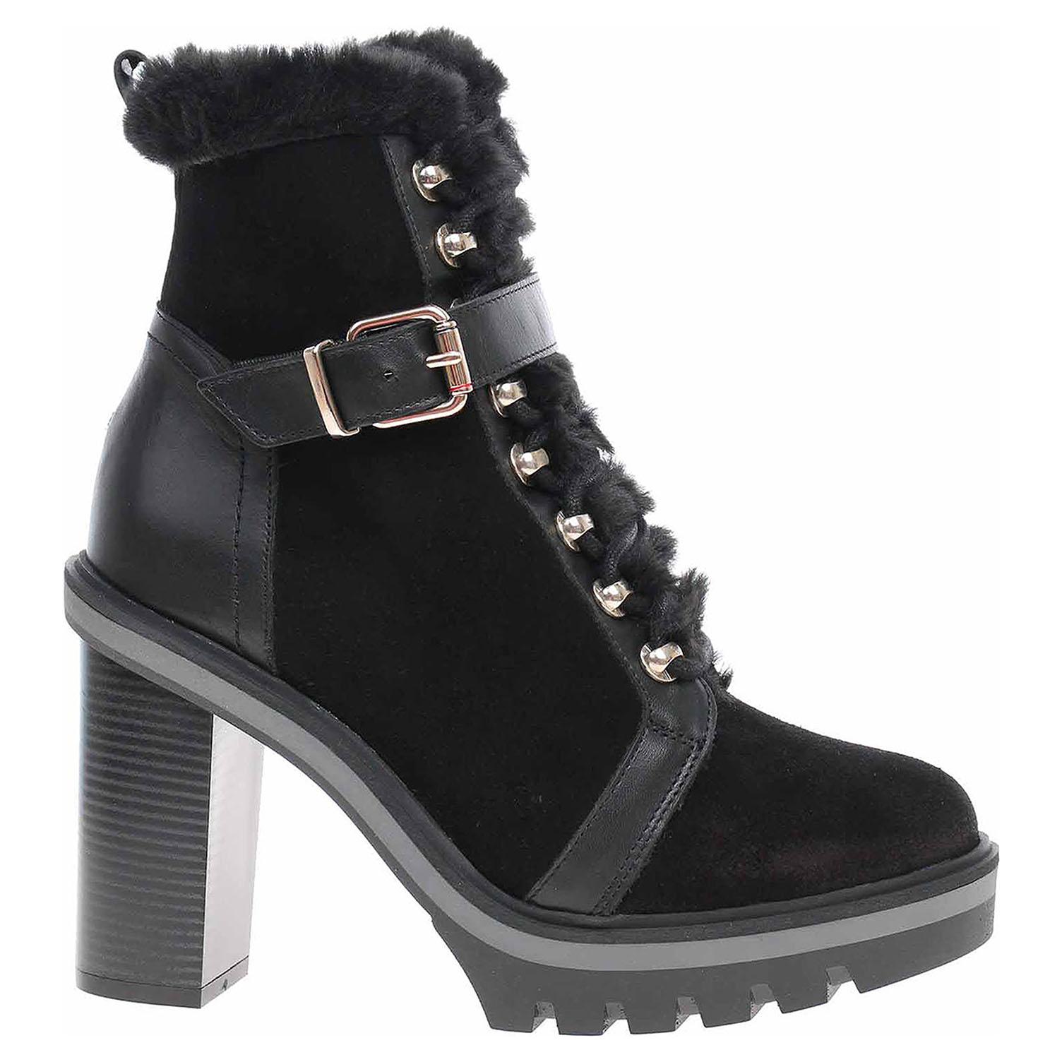 Dámská kotníková obuv Tommy Hilfiger FW0FW05187 BDS black FW0FW05187 BDS 39
