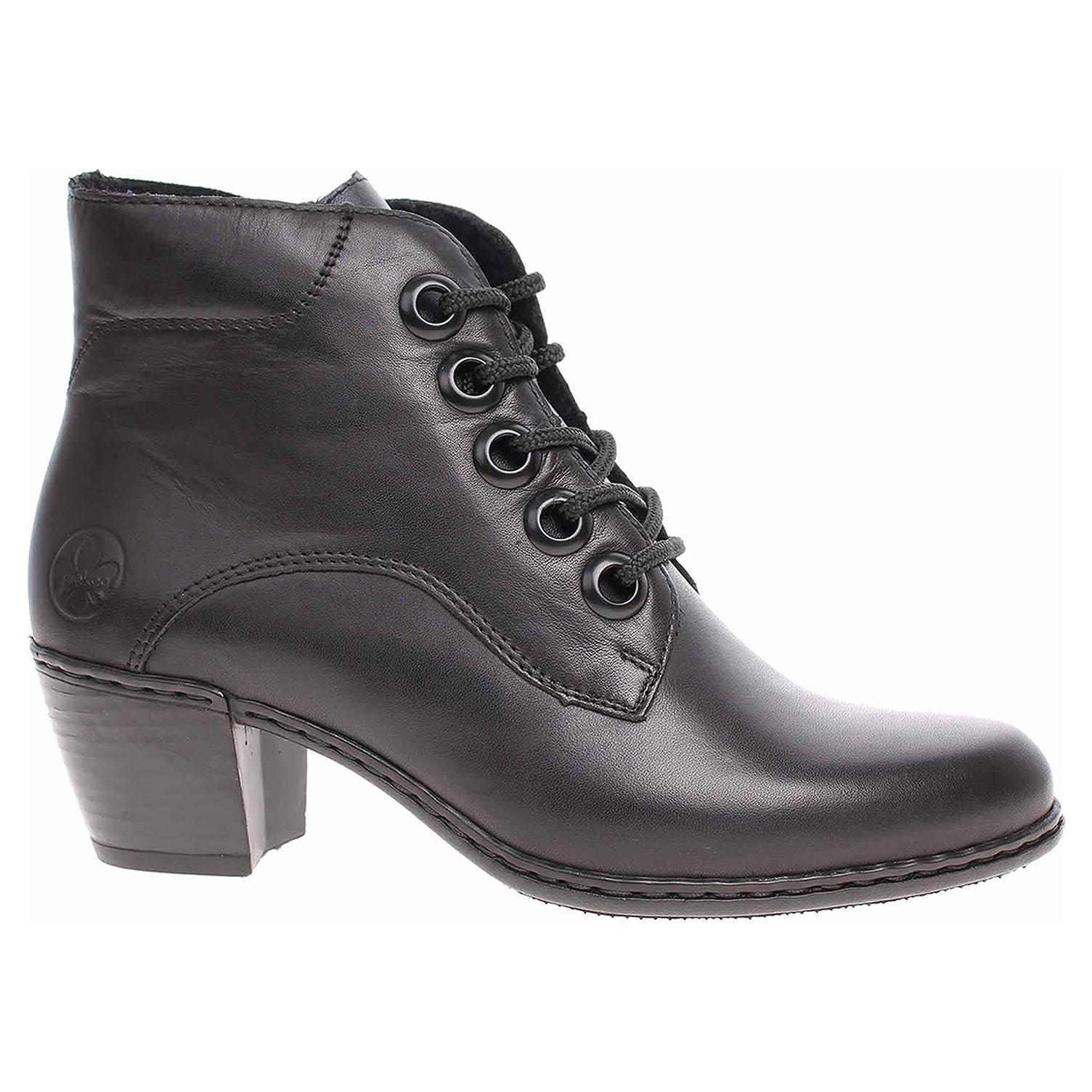 Dámská kotníková obuv Rieker Y2100-00 schwarz Y2100-00 39