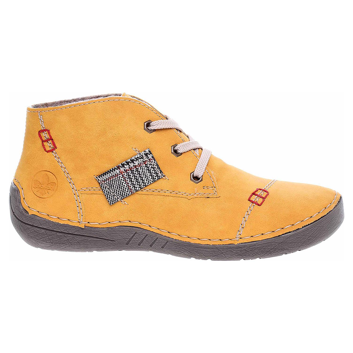Dámská kotníková obuv Rieker 52543-69 gelb 52543-69 39