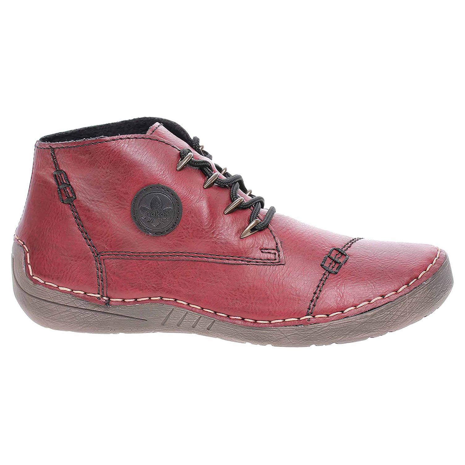 Dámská kotníková obuv Rieker 52502-35 rot 52502-35 39