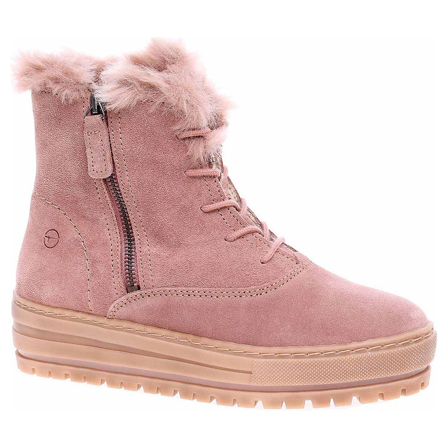 Dámská kotníková obuv Tamaris 1-26084-31 powder 1-1-26084-31 560 39