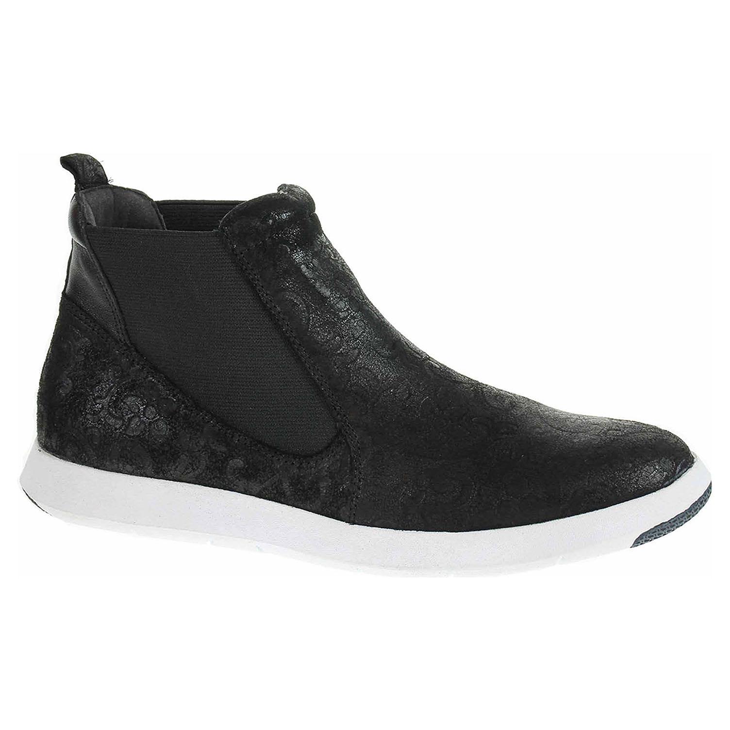 Dámská kotníková obuv Caprice 9-25476-31 black struc.comb 9-9-25476-31 034 39
