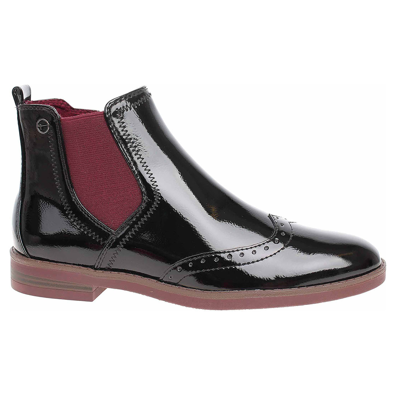 Dámská obuv Tamaris 1-25313-23 black patent 1-1-25313-23 018 40