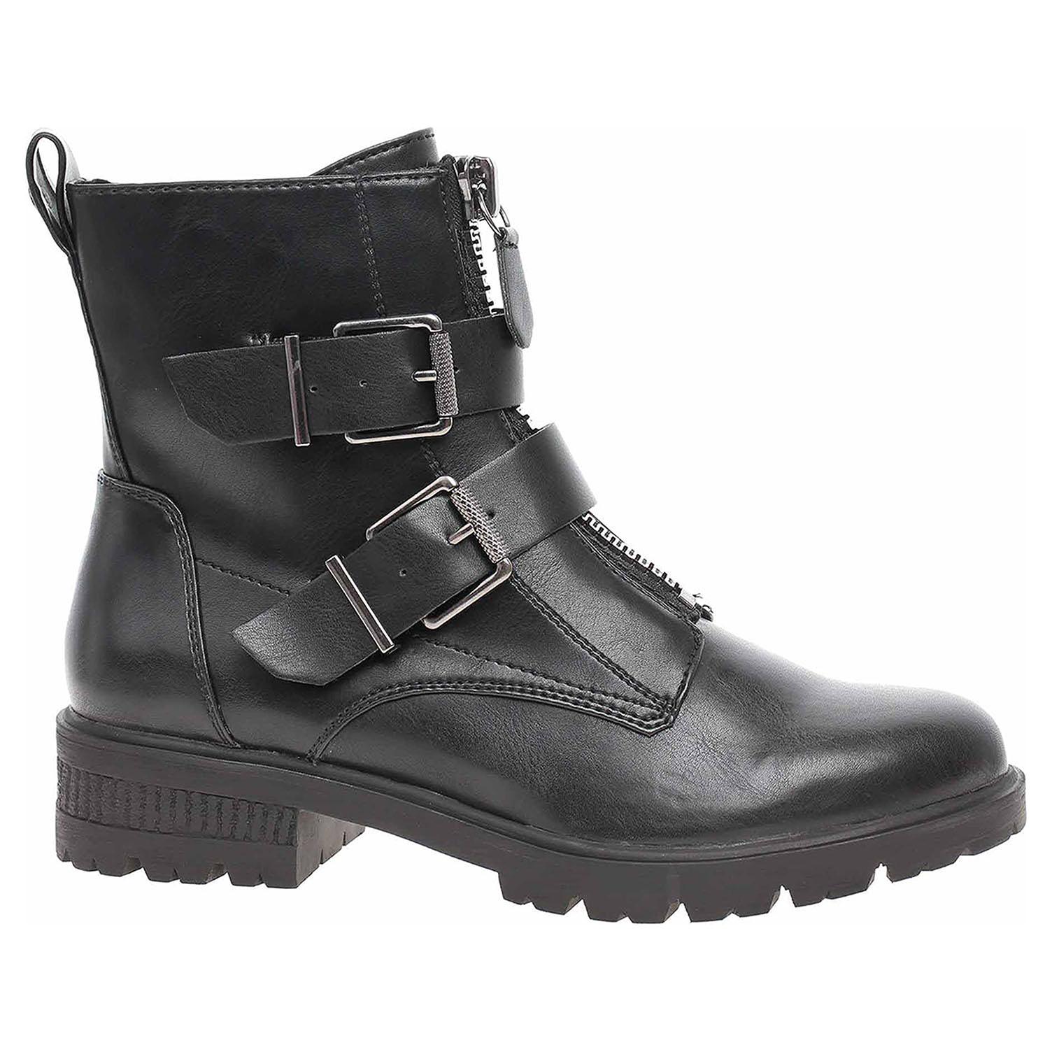 Dámská kotníková obuv Tamaris 1-25414-23 black matt 1-1-25414-23 020 39