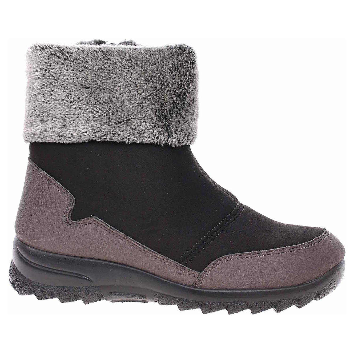 Dámská obuv Rogallo 4509-000 černá 4509/000 černá 37