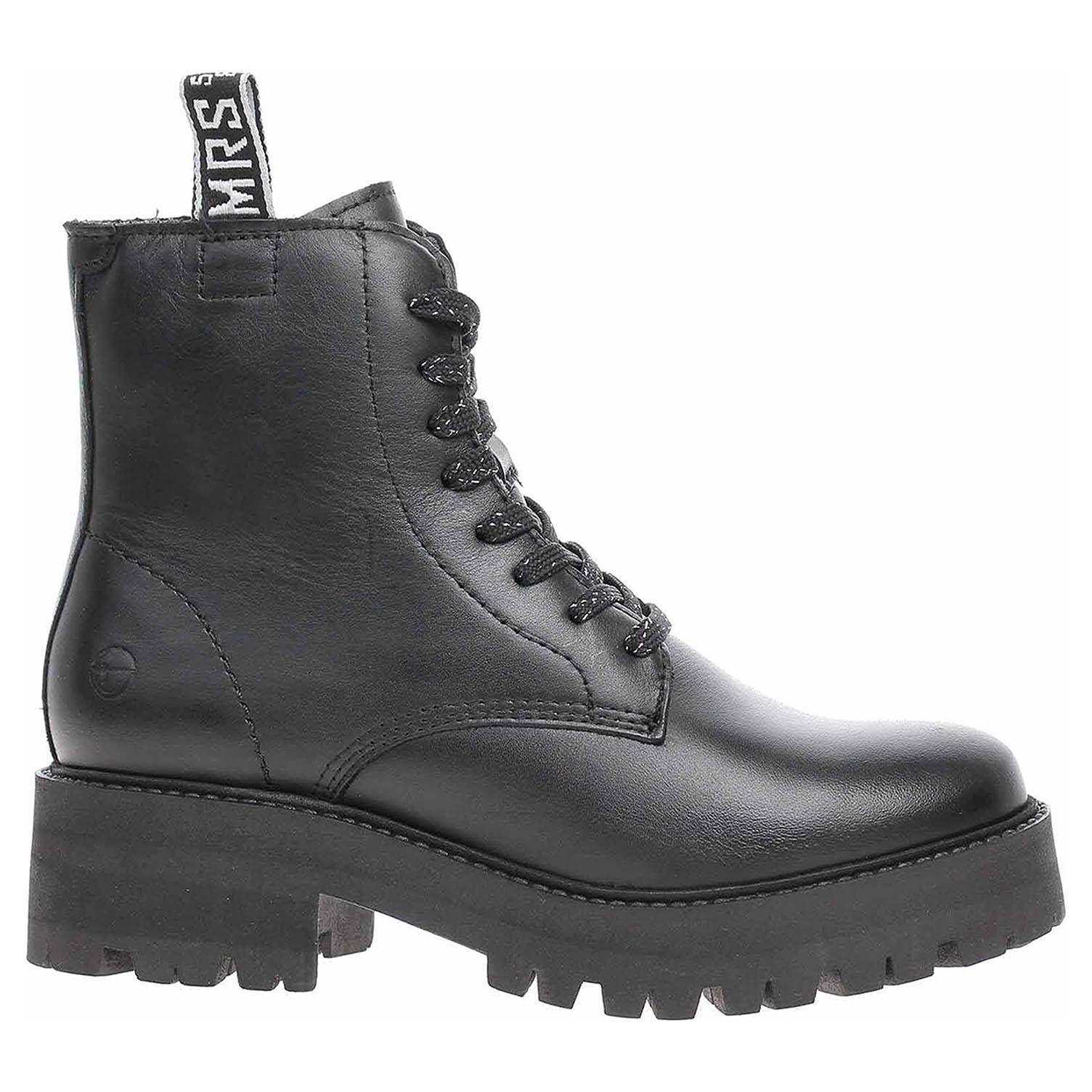 Dámská kotníková obuv Tamaris 1-25456-25 black 1-1-25456-25 001 37