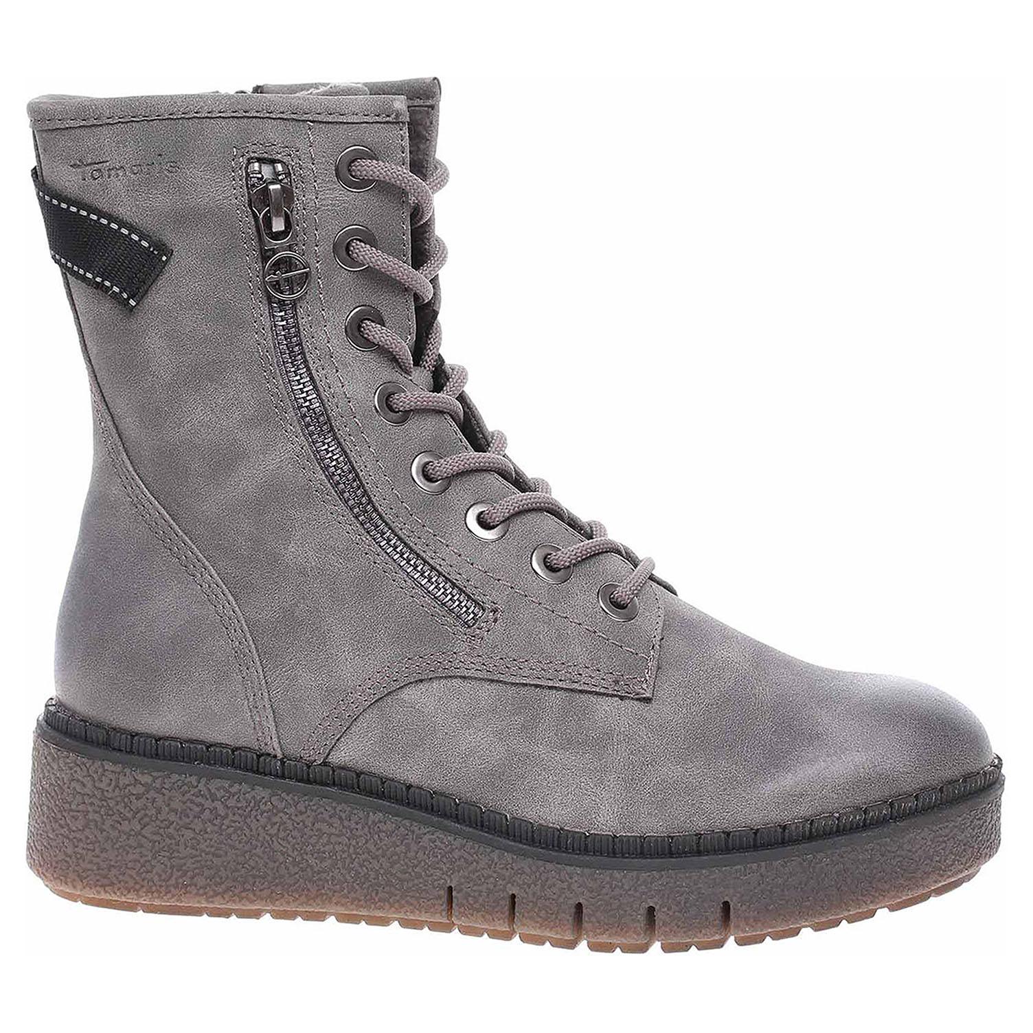 Dámská kotníková obuv Tamaris 1-25900-25 anthracite mat 1-1-25900-25 217 39
