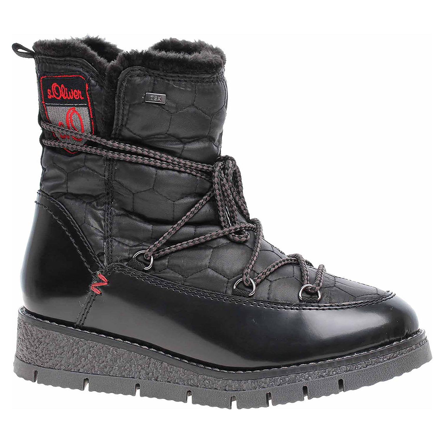 Dámská obuv s.Oliver 5-26477-31 black comb 5-5-26477-31 098 39