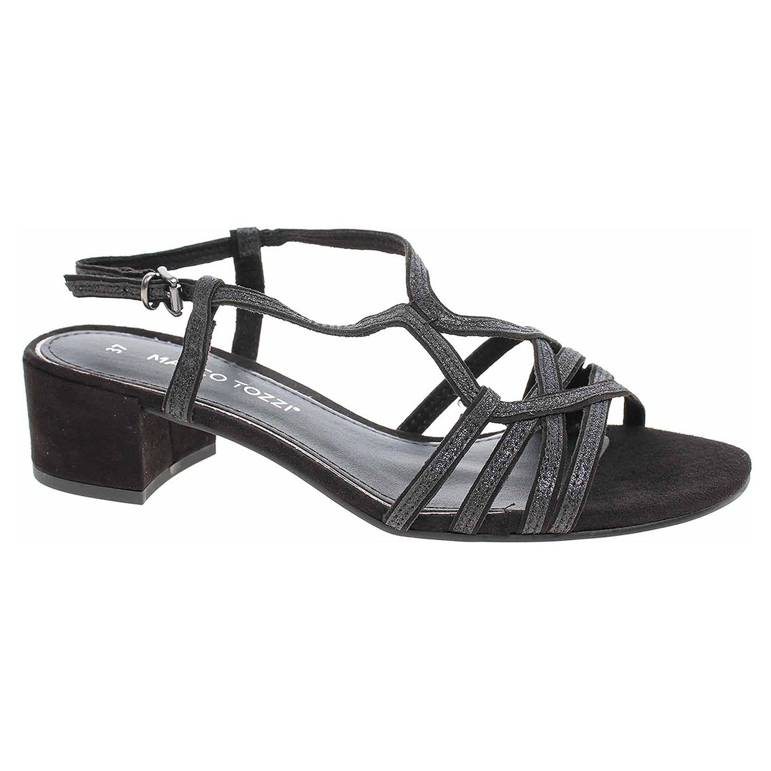 Dámská společenská obuv Marco Tozzi 2-28201-22 black comb 2-2-28201-22 098 39