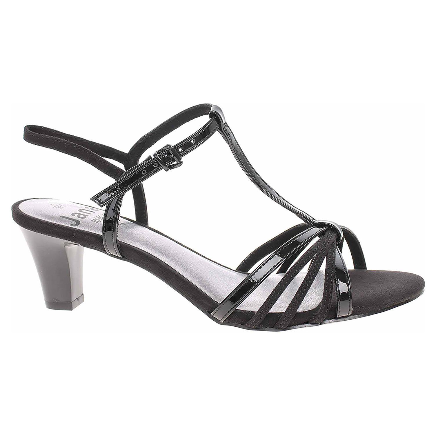 Dámská společenská obuv Jana 8-28316-24 black 8-8-28316-24 001 39