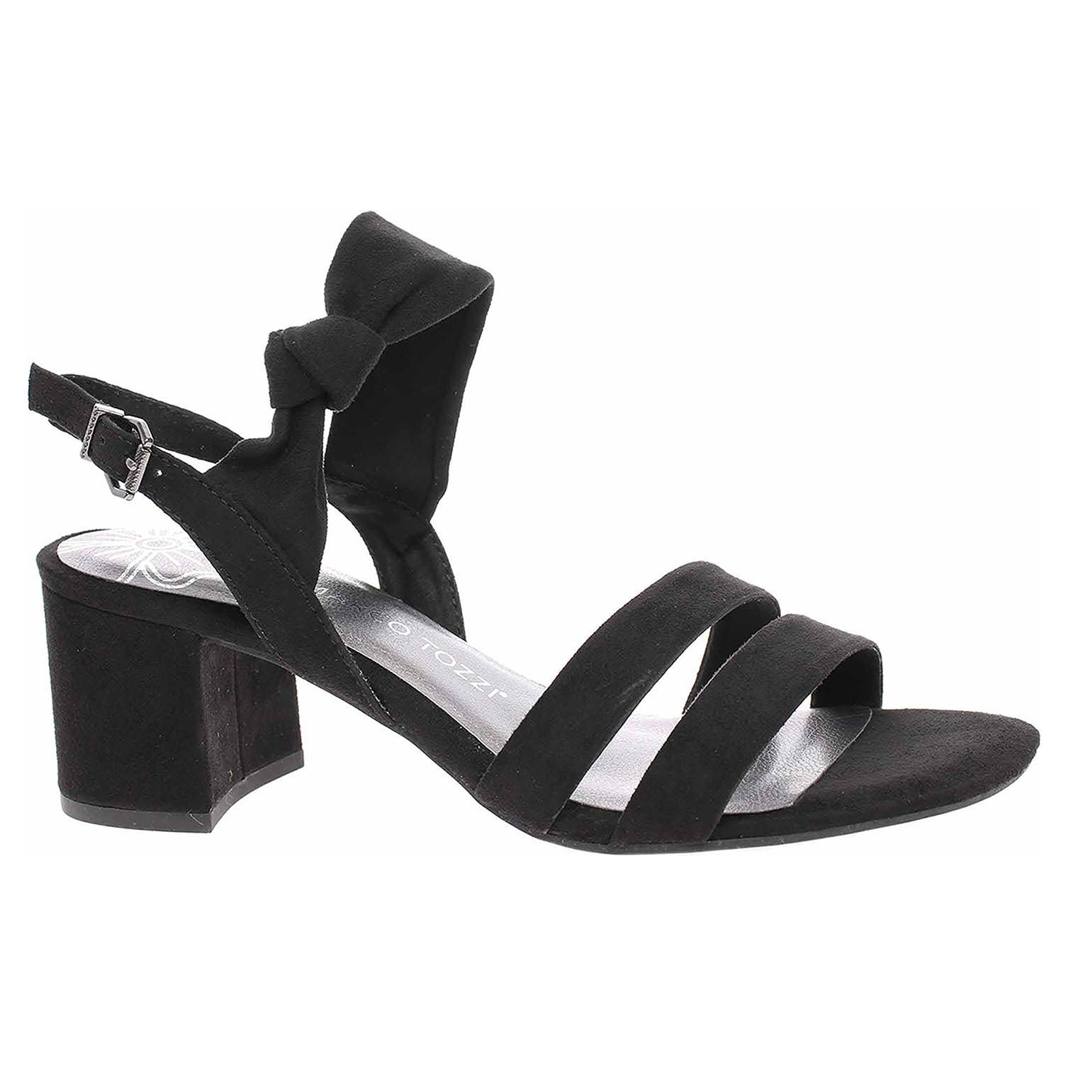 Dámská společenská obuv Marco Tozzi 2-28300-24 black 2-2-28300-24 001 39