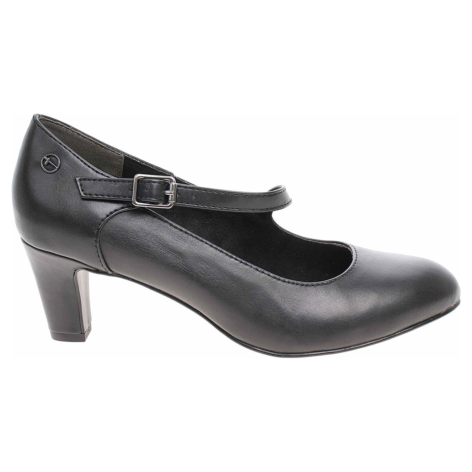 fb6f853f145c Tamaris dámské lodičky 1-24402-21 black leather 1-1-24402-
