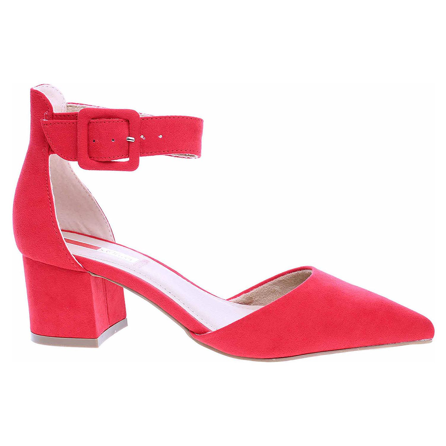 Dámská společenská obuv s.Oliver 5-24407-24 red 5-5-24407-24 500 39