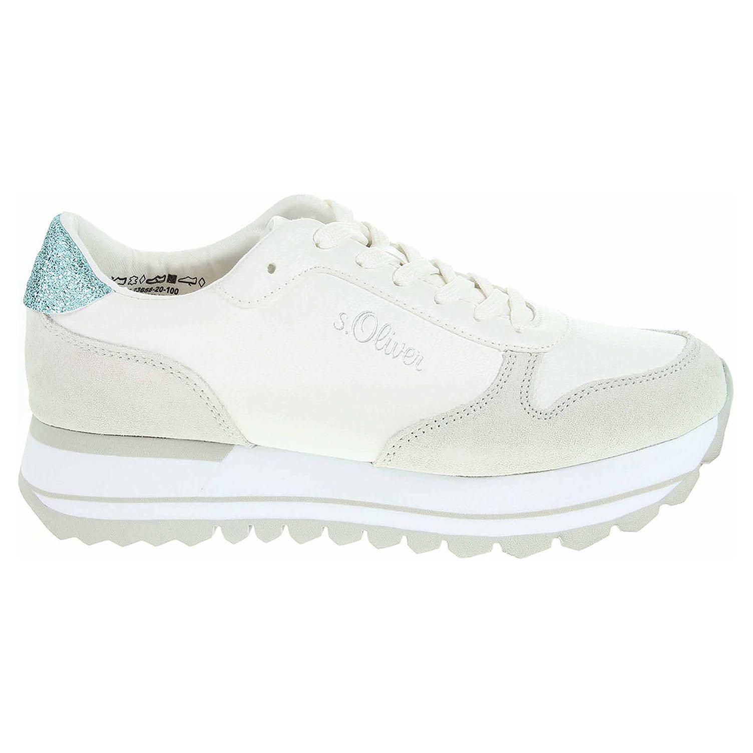 Oliver dámská obuv 5-23658-20 white 5-5-23658 cb192a3c20