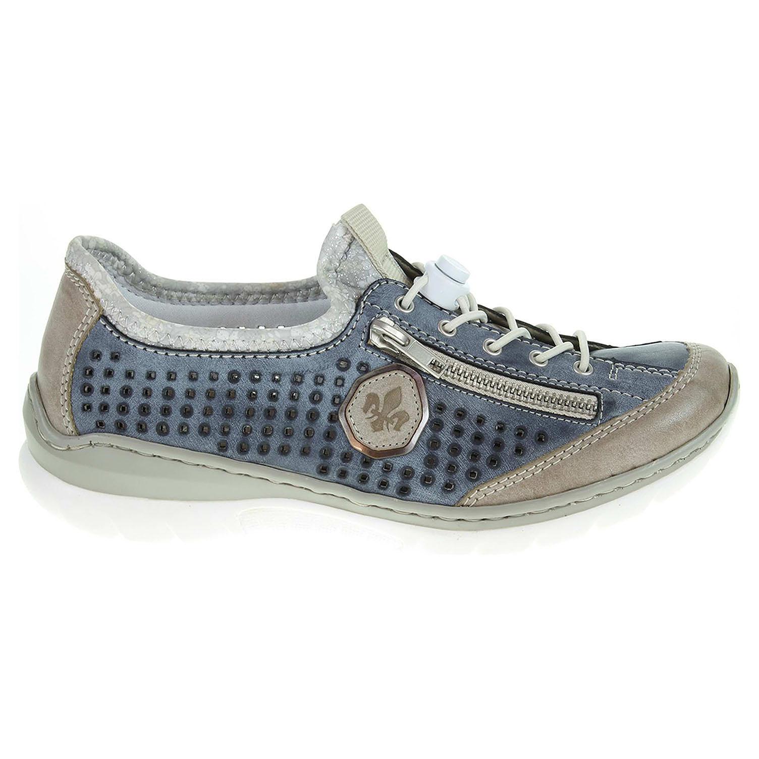 Rieker dámská obuv L3296-42 blau kombi L3296-42 37