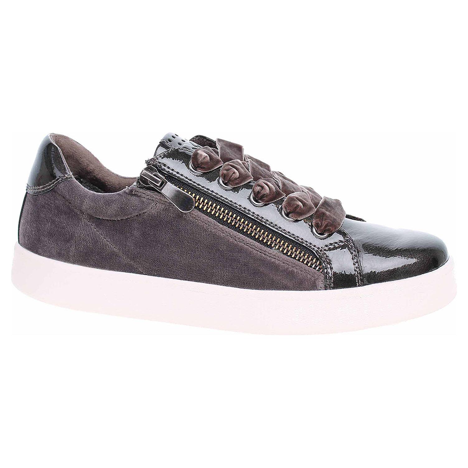 Dámská vycházková obuv Marco Tozzi 2-23774-31 dk.grey comb 2-2-23774-31 225 38