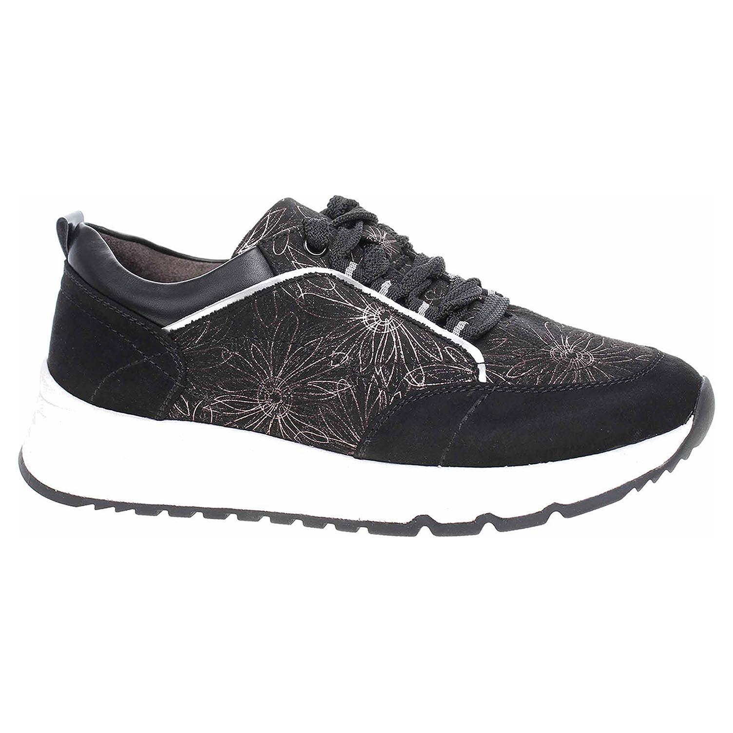 Dámská obuv Jana 8-23764-25 black 8-8-23764-25 001 39