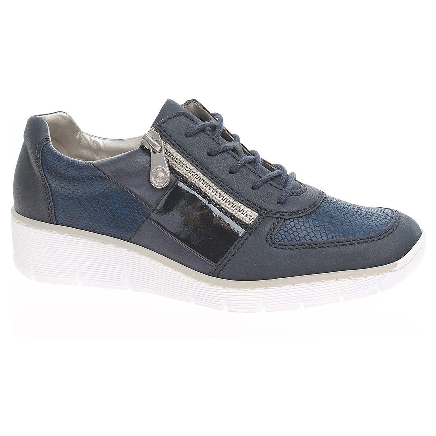 Dámská obuv Rieker 53714-14 modrá 42