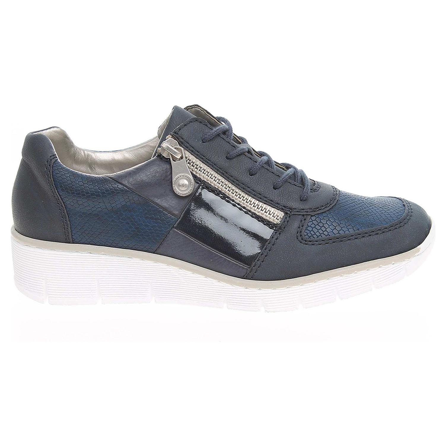 Rieker dámská obuv 53714-14 modrá 42