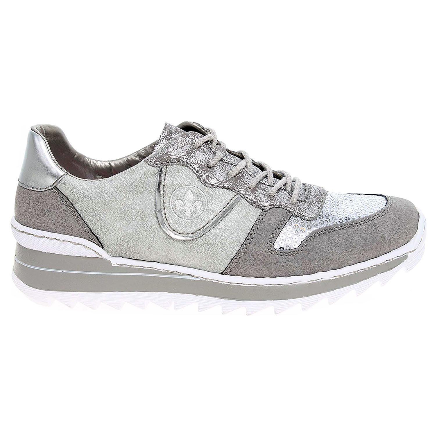 Rieker dámská obuv M6902-42 šedá 37