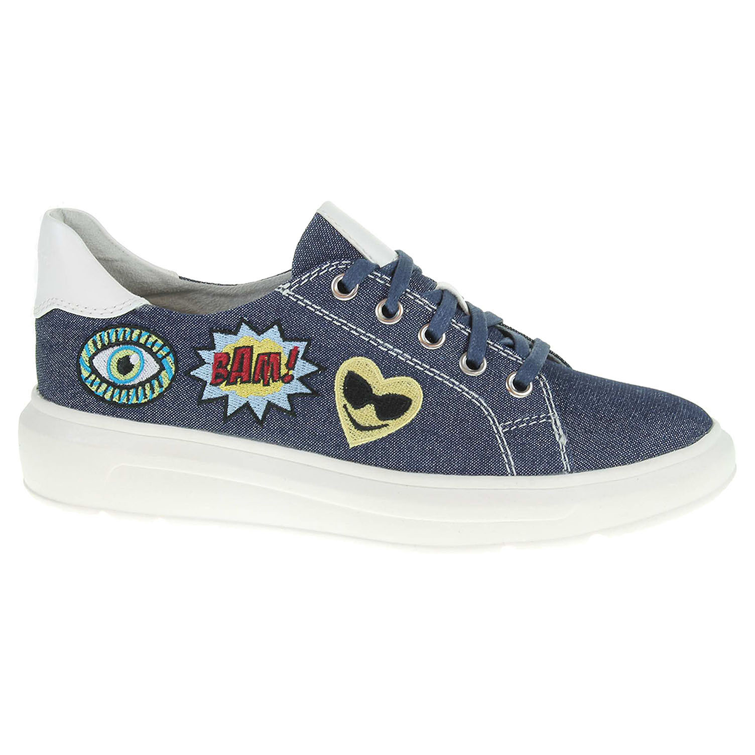 Dámská obuv Tamaris 1-23711-28 modrá 37