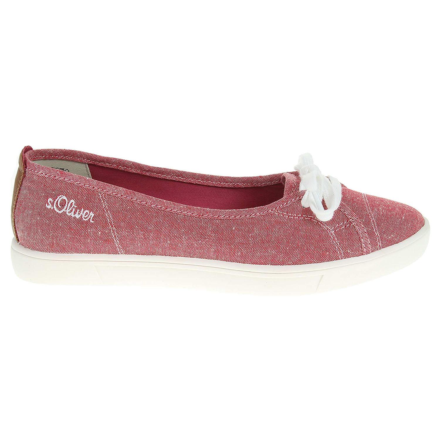 Oliver dámská obuv 5-22131-38 červená 40 df82e482f3