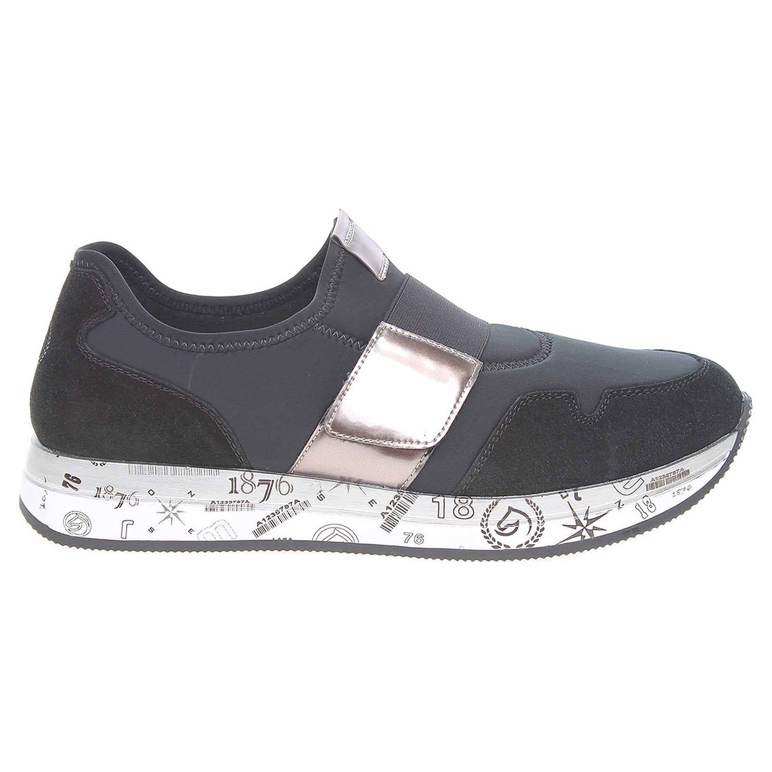 Remonte dámská obuv D2504-02 schwarz kombi D2504-02 43
