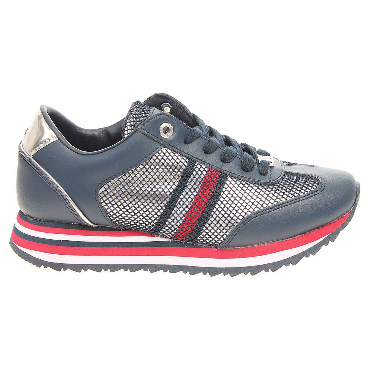 4515ca1dff Tommy Hilfiger dámská obuv FW0FW02450 tommy navy FW0FW02450 406 38