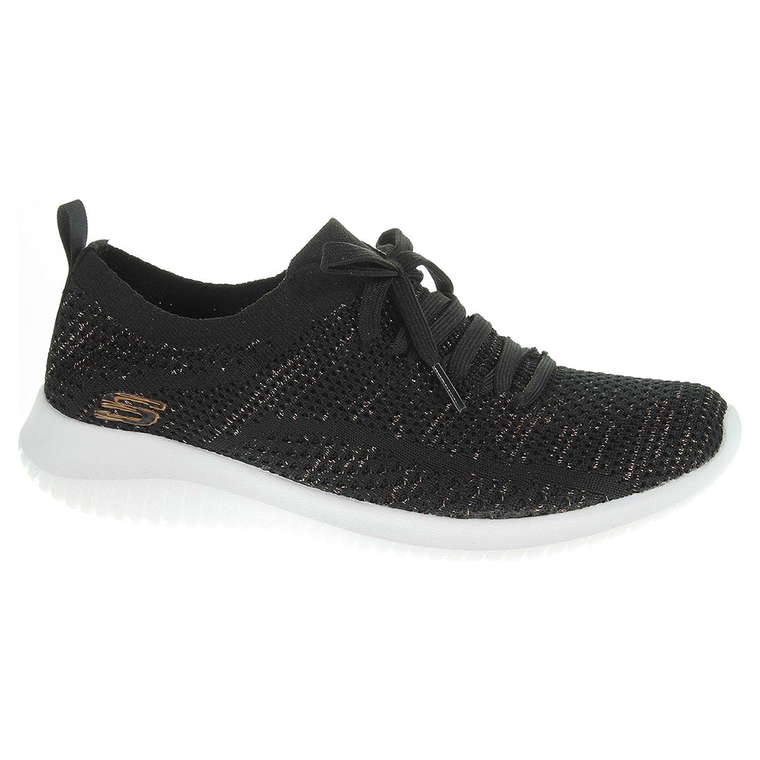 Skechers Ultra Flex - Salutations black-gold 12843 BKGD 40