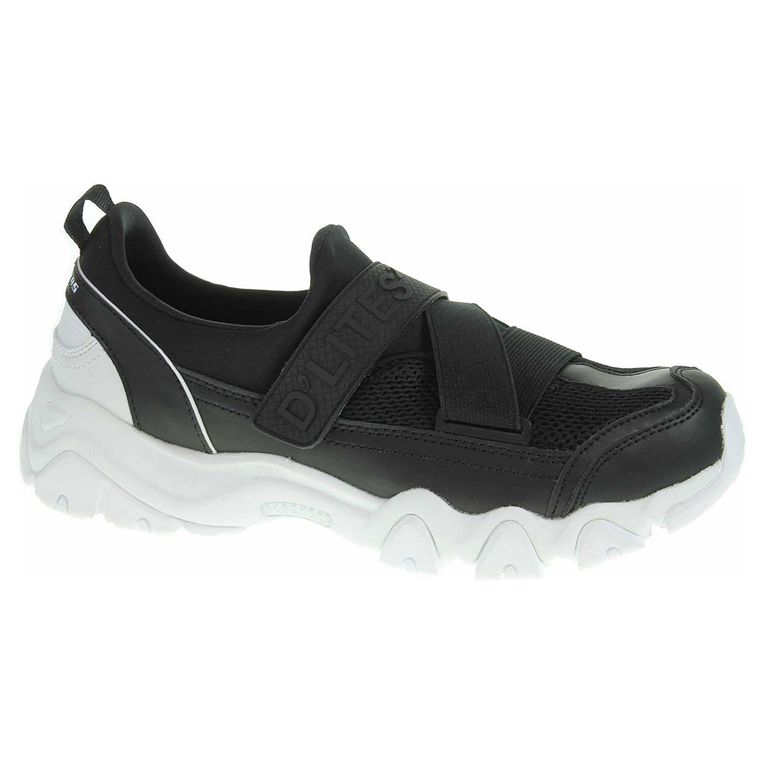 Skechers D´Lites 2-Fast Look black 88888016 BLK 40