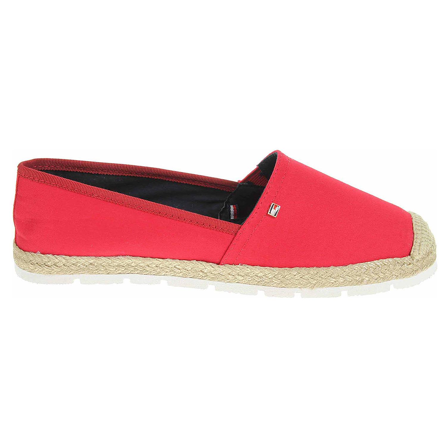 Tommy Hilfiger dámská obuv FW0FW02409 611 tango red FW0FW02409 611 39