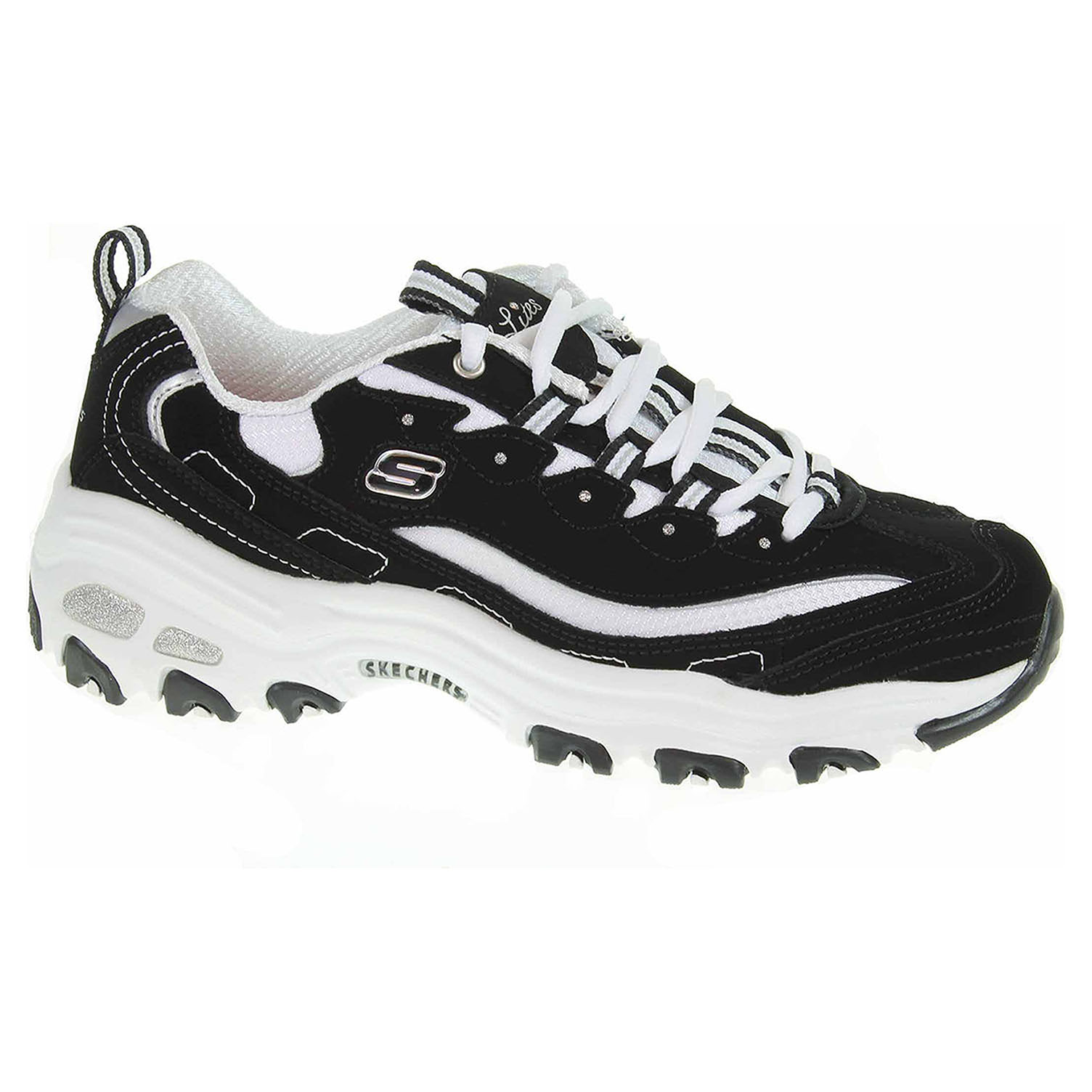 Skechers D´Lites - Biggest Fan black-white 11930 BKW 39