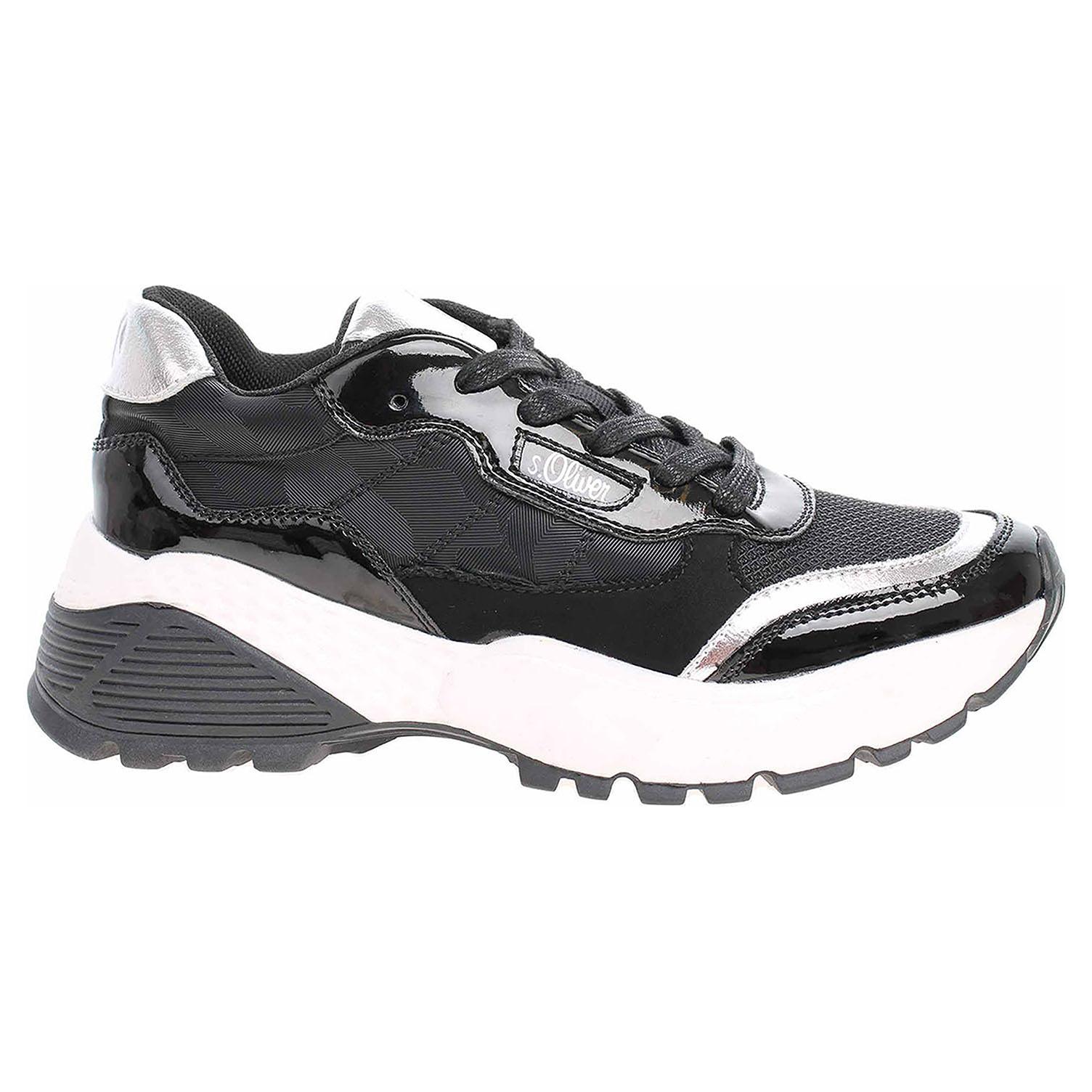 Dámská obuv s.Oliver 5-23610-23 black comb 5-5-23610-23 098 39