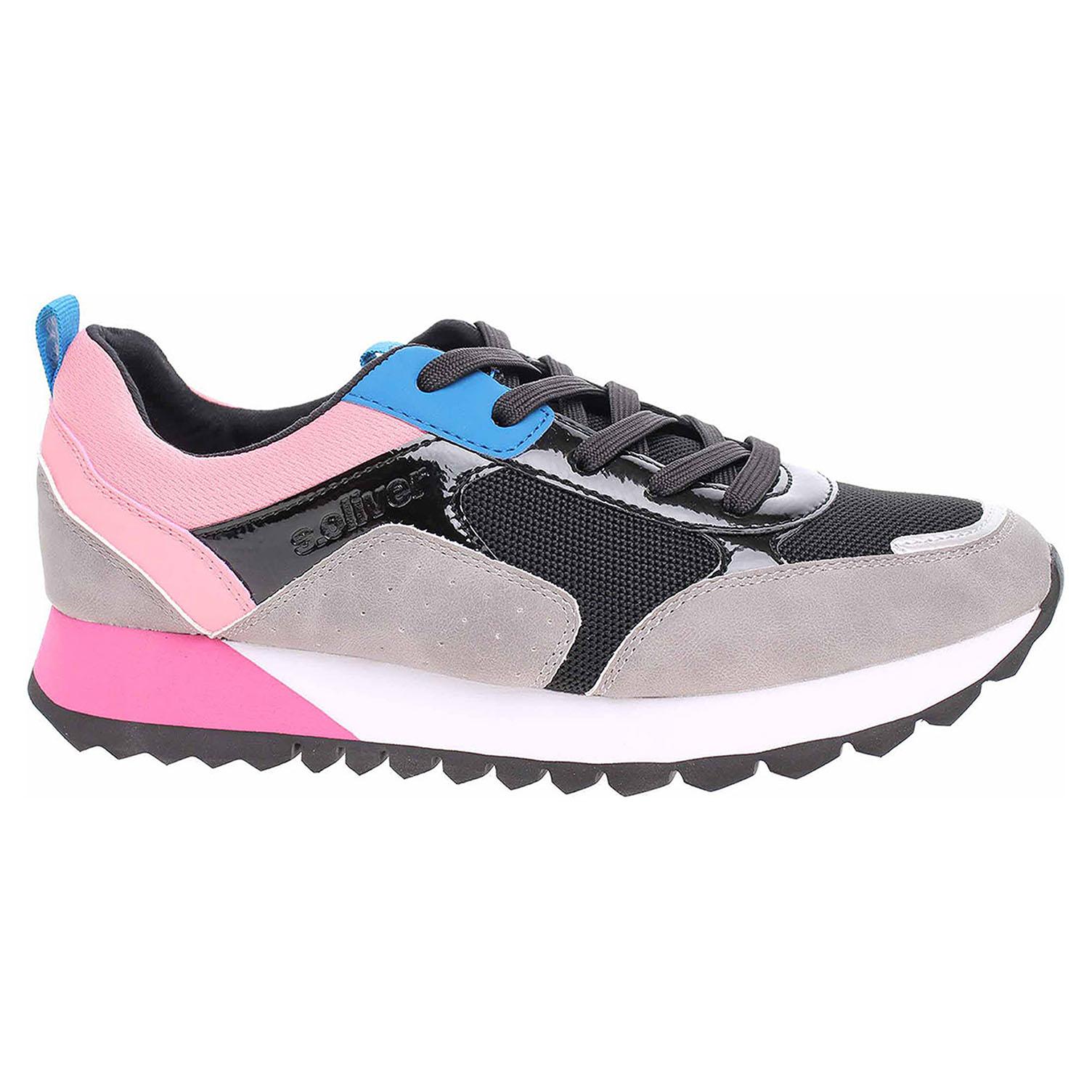 Dámská vycházková obuv s.Oliver 5-23614-33 lt grey comb 5-5-23614-33 218 39