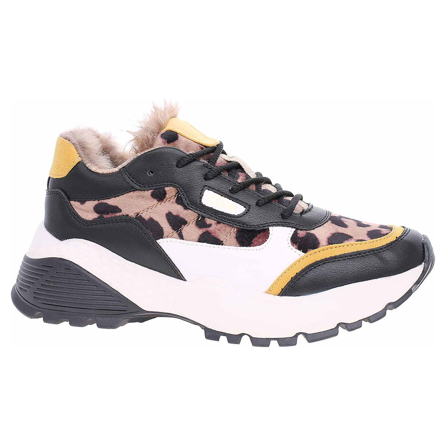 Dámská obuv s.Oliver 5-23628-33 black-leo comb 5-5-23628-33 089 39
