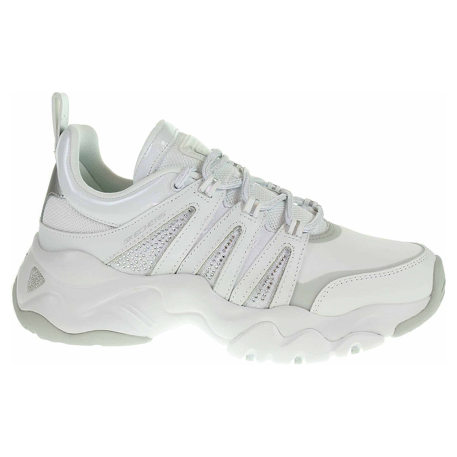 Skechers D´Lites 3.0 - Intense Force white-silver 12959 WSL 39
