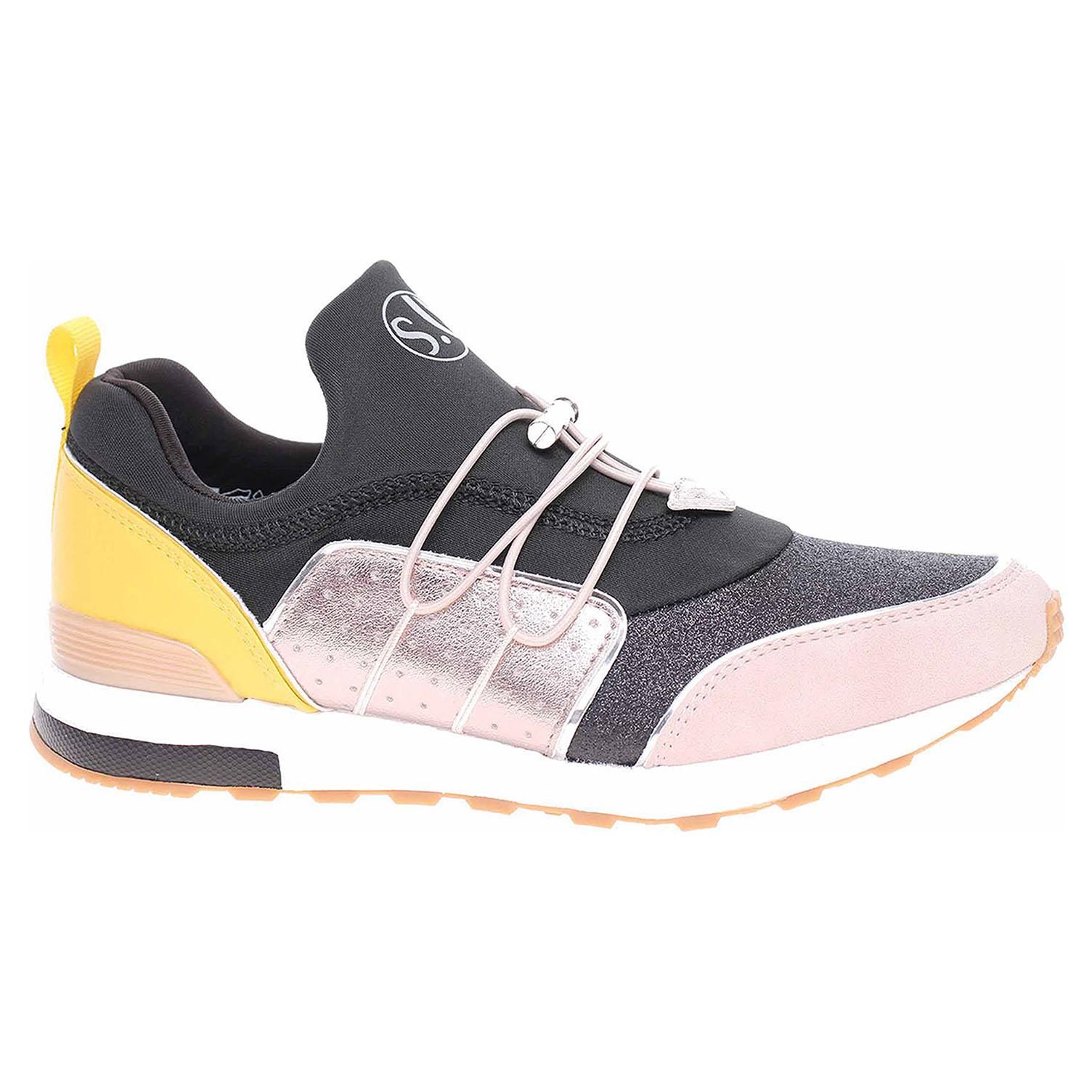 Dámská obuv s.Oliver -23613-24 black comb 5-5-23613-24 098 39