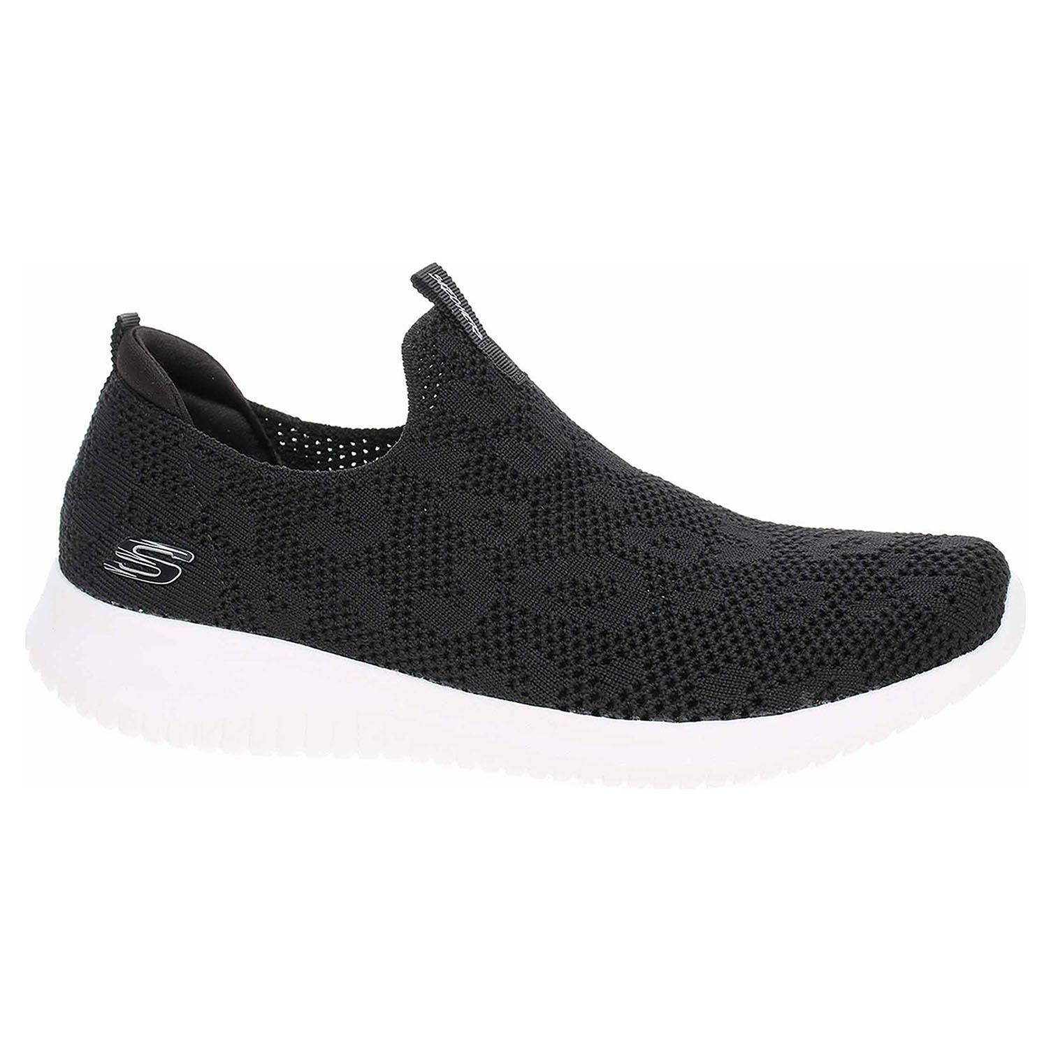 Skechers Ultra Flex - Fast Talker black-white 149009 BKW 37,5