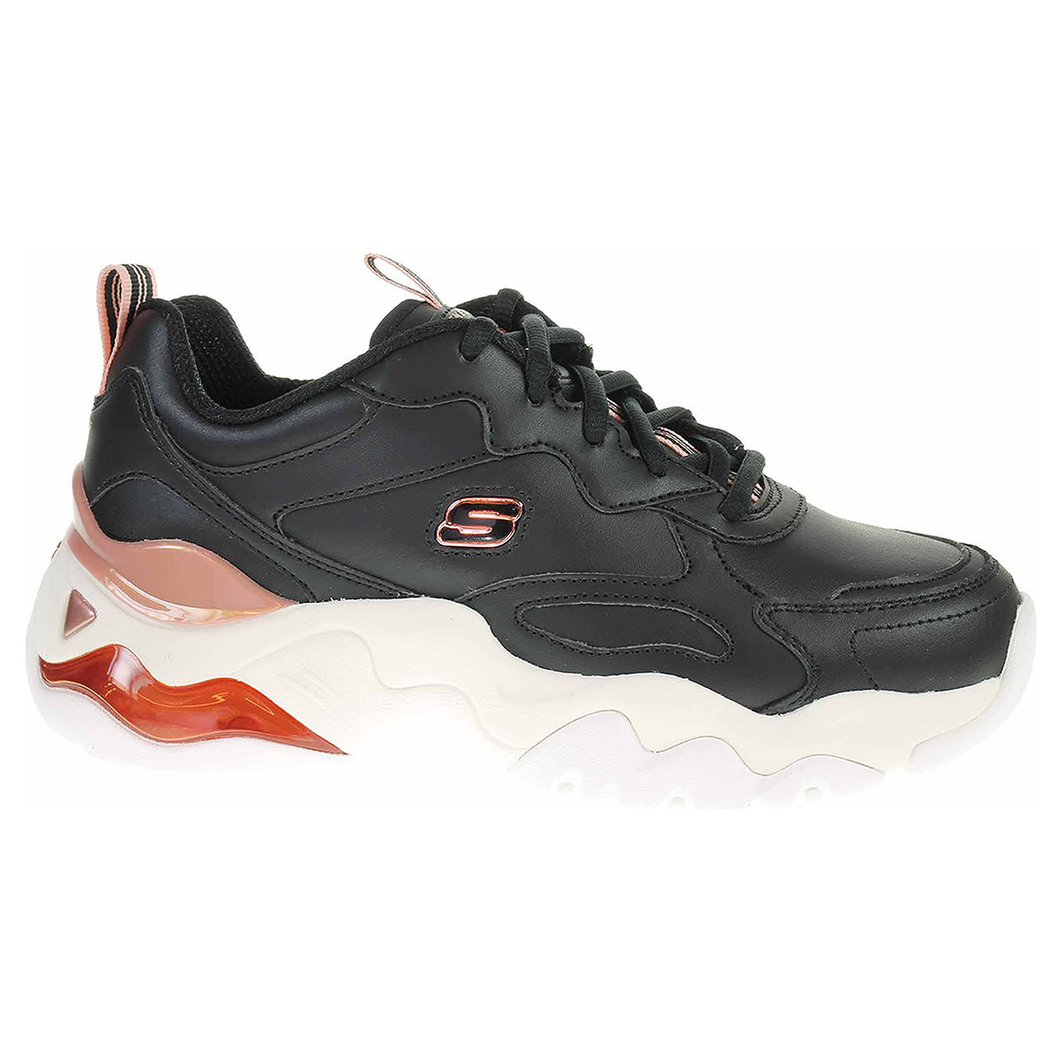 Skechers D´Lites 3.0 Air - Golden Rules black-rose gold 149088 BKRG 39