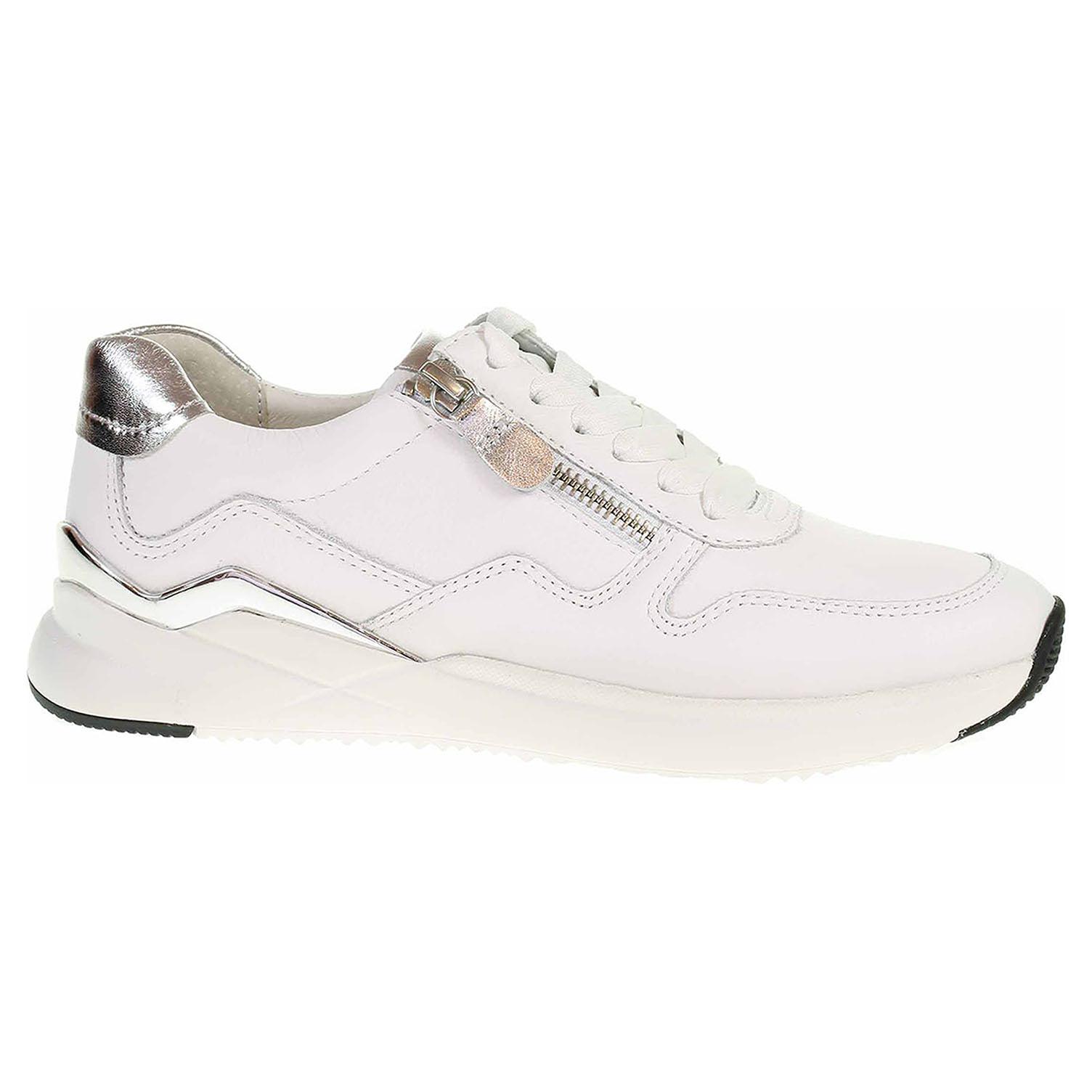 Dámská obuv Gabor 43.480.21 weiss-silber 43.480.21 38