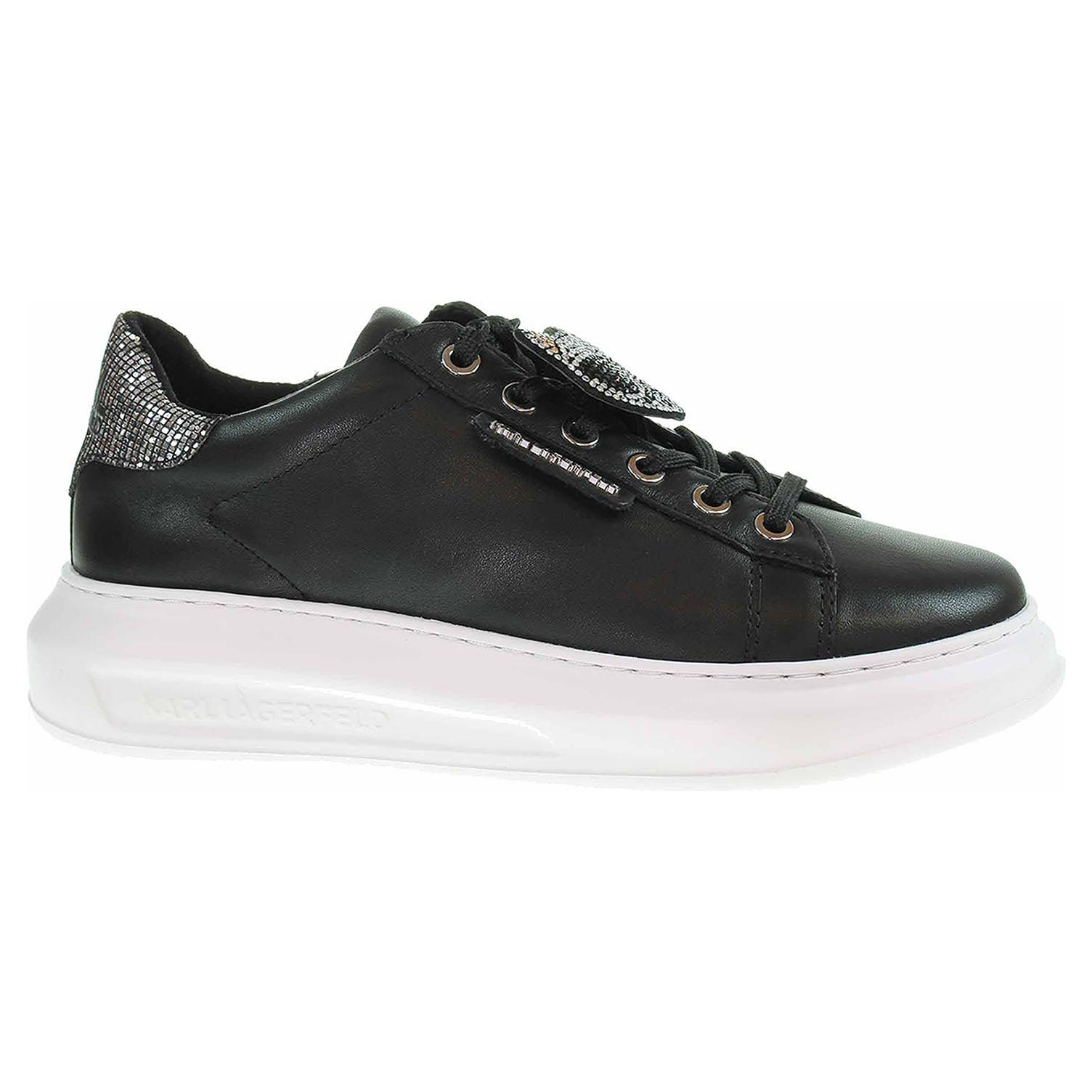 Dámská obuv Karl Lagerfeld KL62576 000 black lthr KL62576 000 39