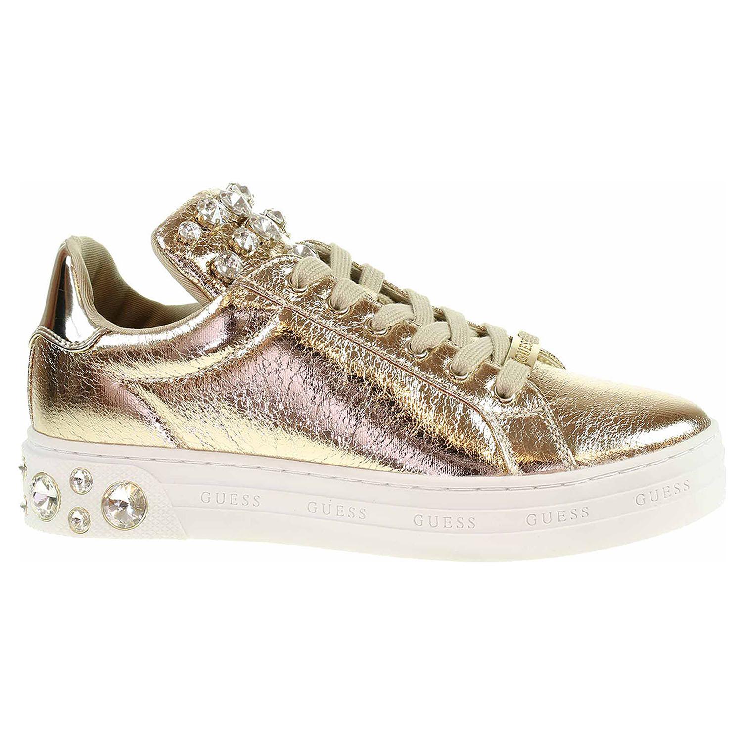 Dámská obuv Guess Marey gold FL7MEYLEL12 gold 36