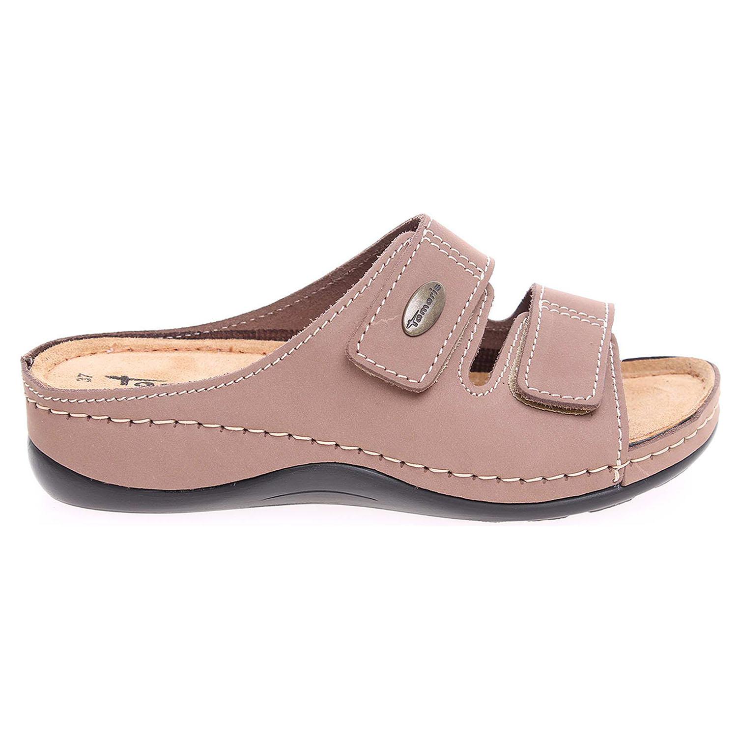Tamaris dámské pantofle 1-27510-20 taupe 1-1-27510-21 341 38