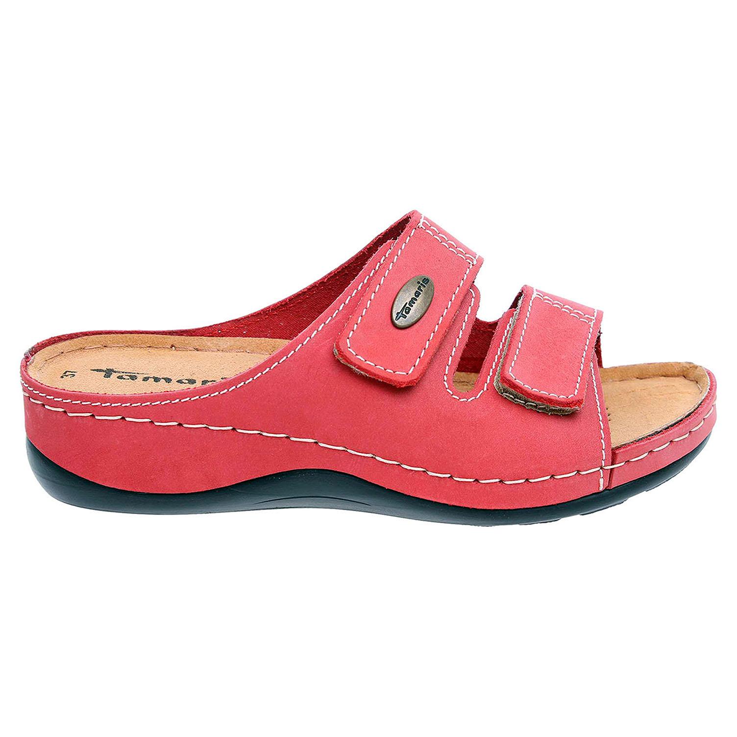 Tamaris dámské pantofle 1-27510-21 red 1-1-27510-21 500 36