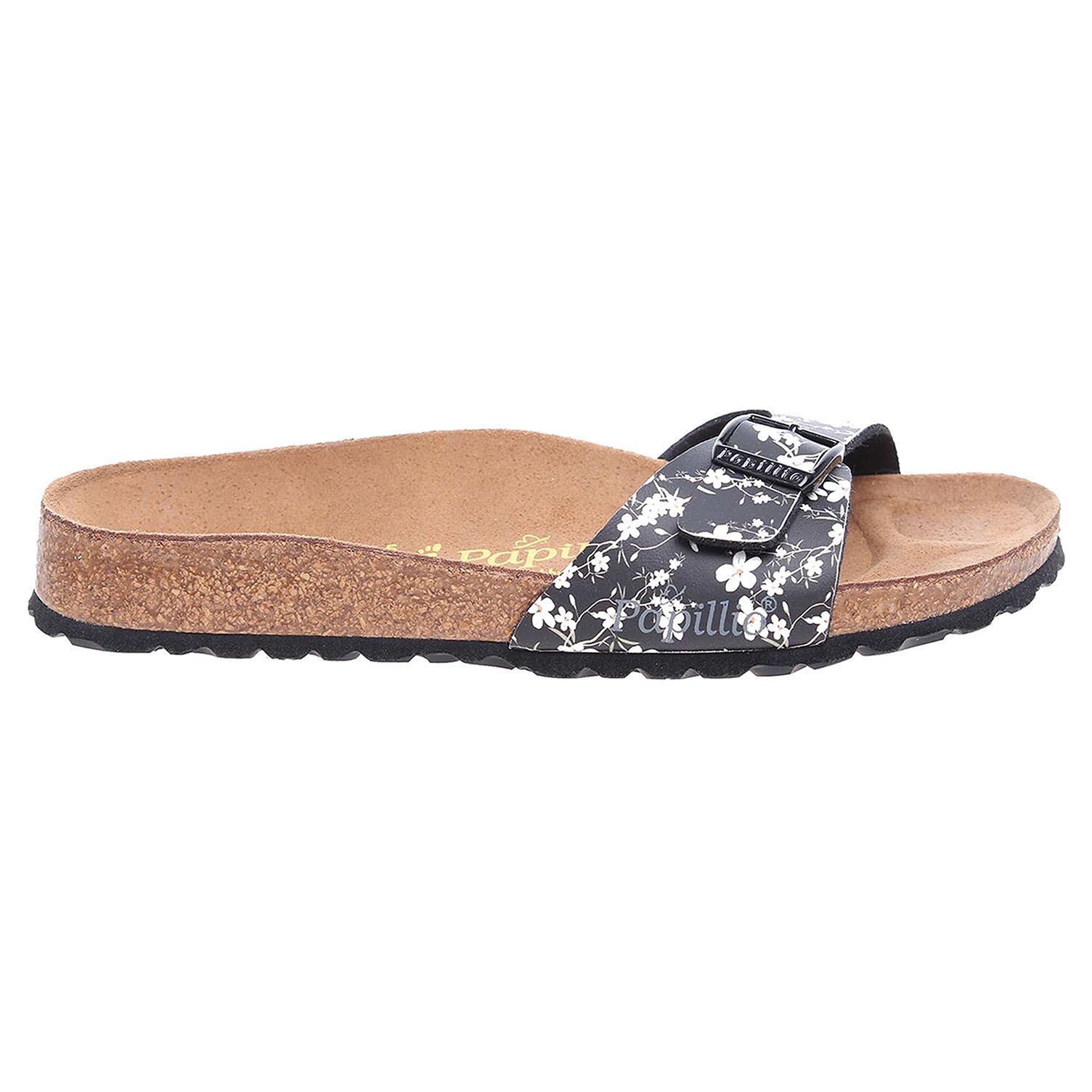 Papillio Madrid pantofle 271923 černá 271923 37