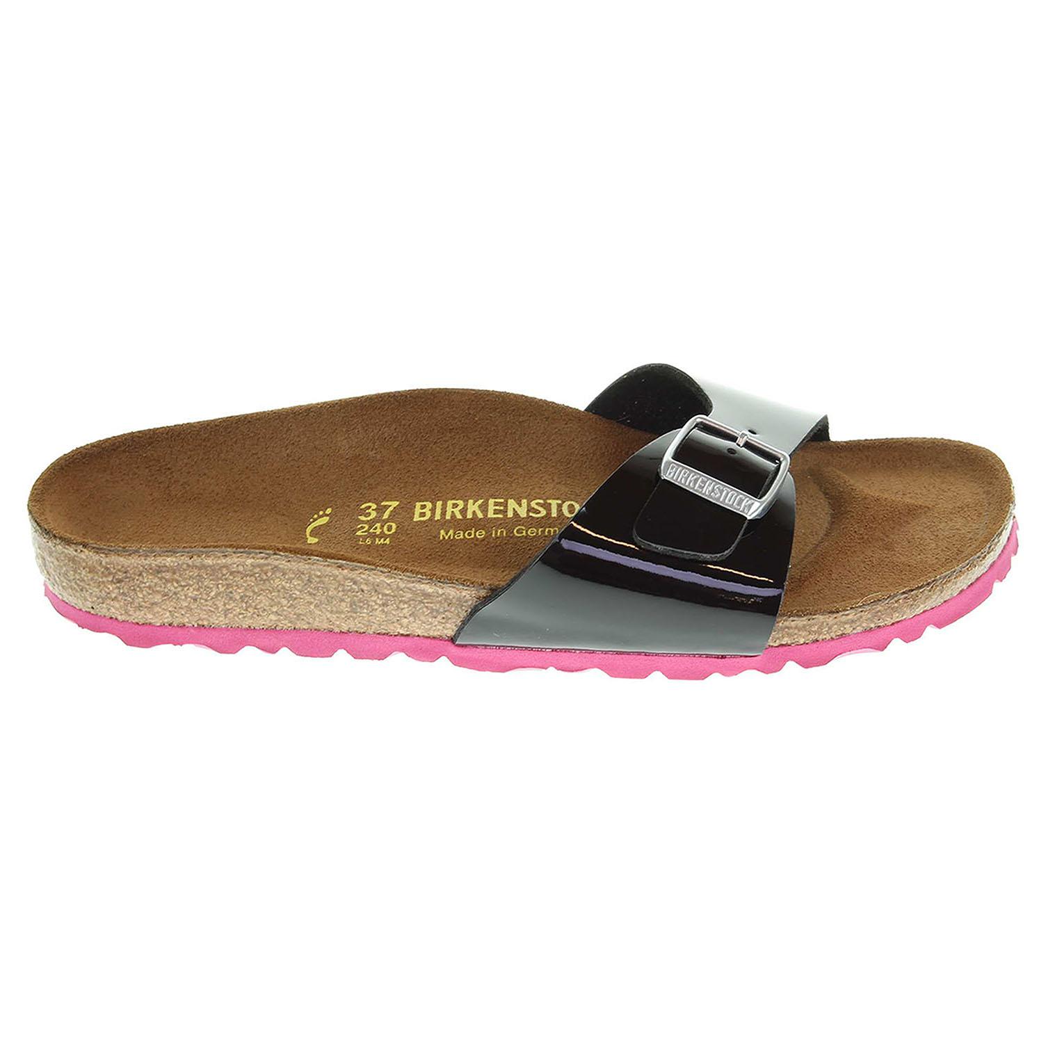 Birkenstock Madrid dámské pantofle 339243 černé 339243 37