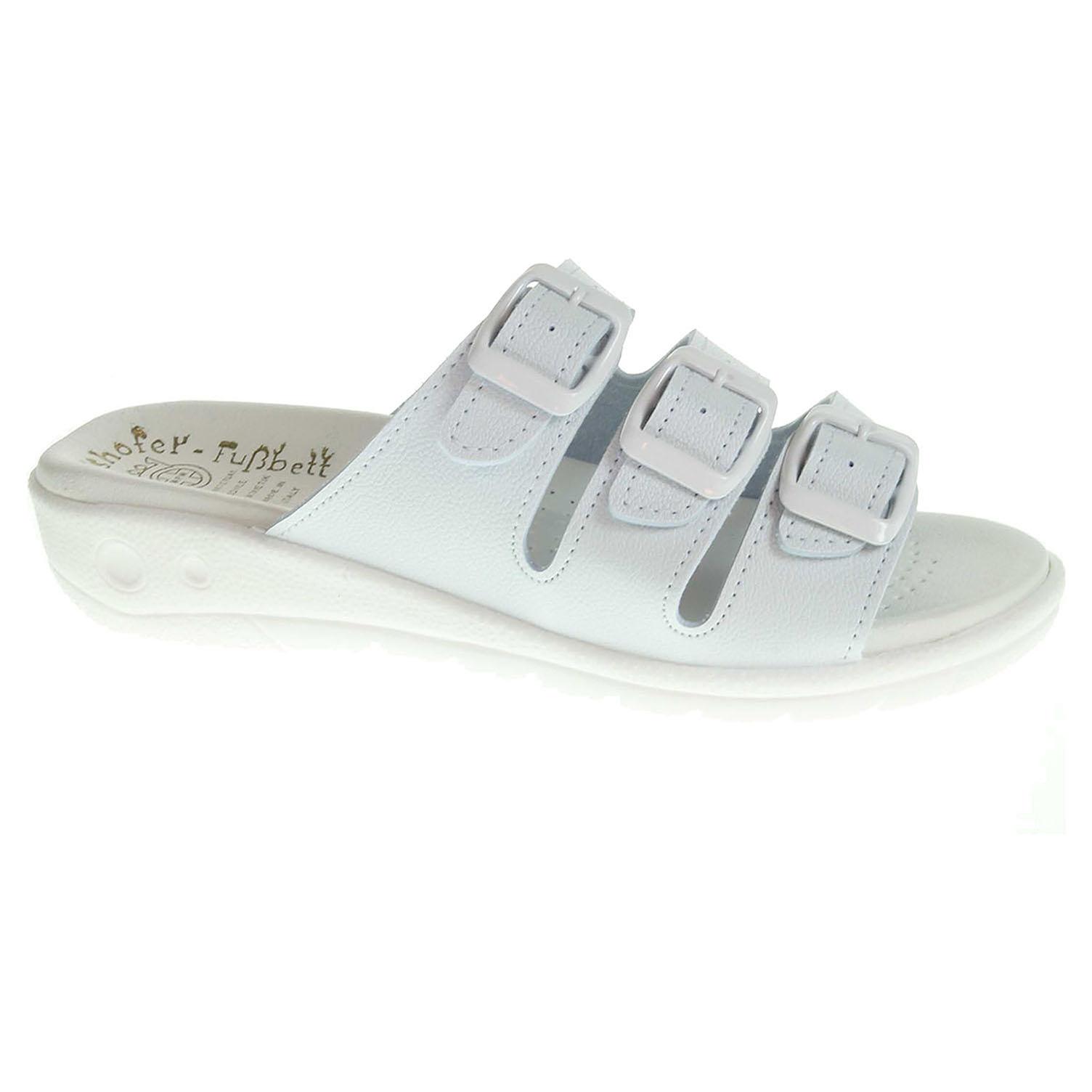 Dámské pantofle 5-20103 bílé 5-20103 bílá 42